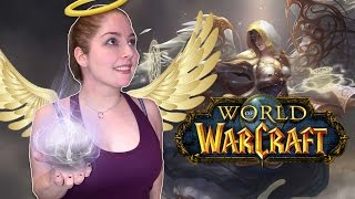 ASMR Gaming | WoW: Disc Priest Dungeon | Whispering + Soothing Rain Sounds