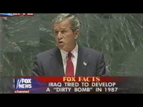 George W  Bush Address to the United Nations, 9/12/2002