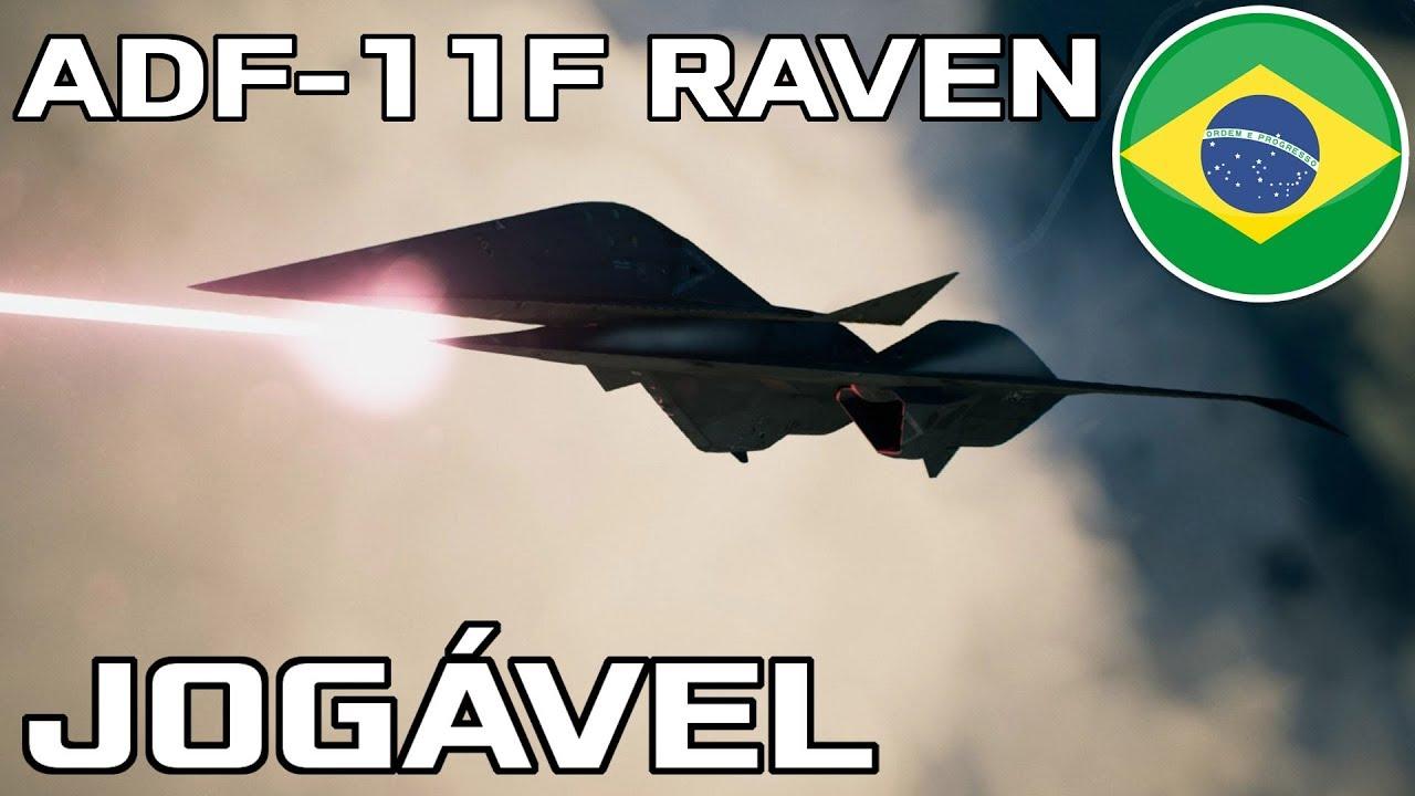 ADF-11F Raven confirmado como aeronave jogável no Ace Combat 7!