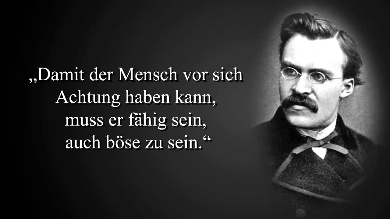 Zitate Von Friedrich Nietzsche Youtube