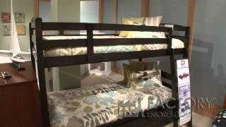 New Energy Zest Collection Bunk Bed - Factoryestores.com