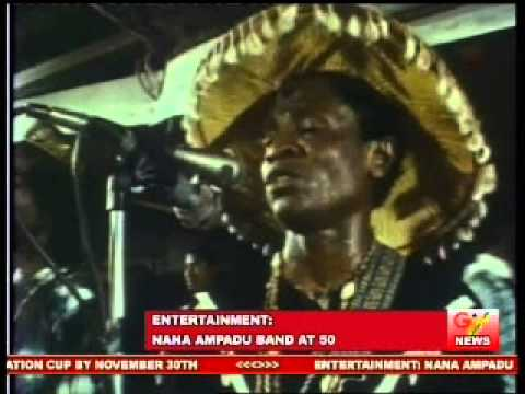 Nana Ampadu & African Brothers 50th Anniversary Launch