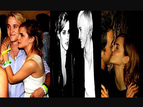 Tom Felton and Emma Watson Lovely Moments
