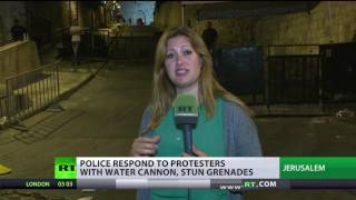 RT crew caught up in violence covering clashes in Jerusalem