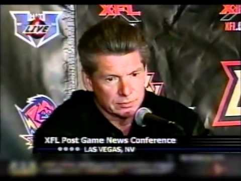 XFL Debut 2001 - Post Game Press Conference