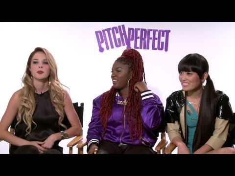 Pitch Perfect: Ester Dean & Alexis Knapp & Hana Mae Lee Interview