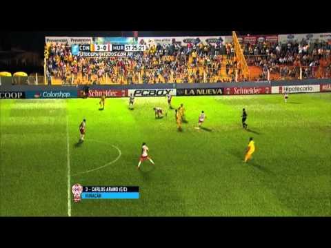 Gol de Arano e/c. Crucero 3 - Huracán 0. Fecha 19. Primera Divisón 2015. FPT.