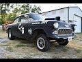 1955 Chevrolet 210 Solid Axle Gasser For Sale Piqua, Ohio | 496 Big Block | Soundcheck