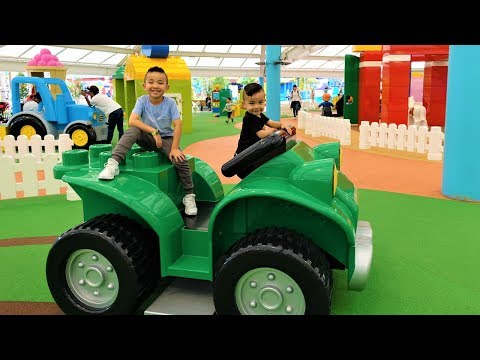BIGGEST Lego Duplo  Ever Kids Fun Playground With Ckn Toys