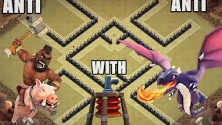 Best UNDEFEATED #1 Town Hall 7Clan Wars Base with Air Sweeper | ANTI DRAG | Clash of Clans