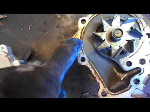 как поменять на рено клио,симбол ремень грм,двигатель К4J Часть 2
