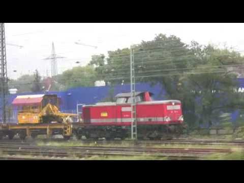 Koln to Bonn - Views from a Train