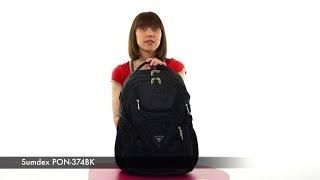Рюкзак для ноутбука Sumdex PON-374BK(, 2015-08-14T09:11:38.000Z)