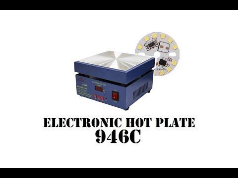 Cyrob : La plaque chauffante 946C, bien pratique pour les LED CMS