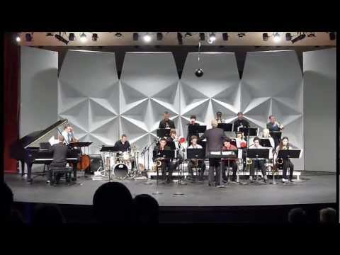 """""""Carmello's by the Freeway"""" by the Stanford Jazz Orchestra on 2-22-2012"""