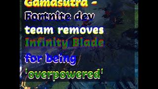 12142018 Gamasutra - Fortnite dev team removes Infinity Blade for being