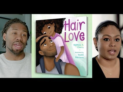 Hair Love | Meet author Matthew Cherry & illustrator Vashti Harrison