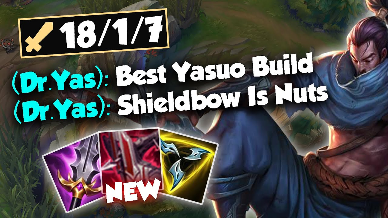 This Is Easily The Best Preseason 11 Yasuo Build Youtube
