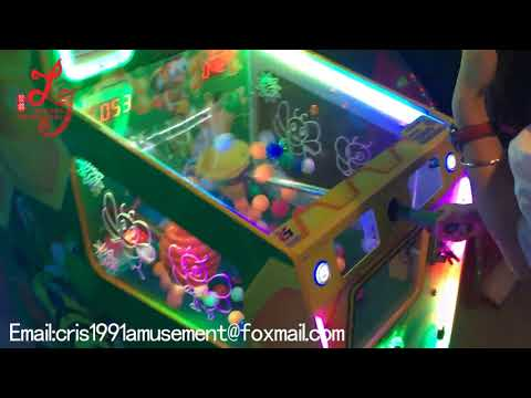 cheap  coin operated balloon tickets lottery redemption games machines for sale