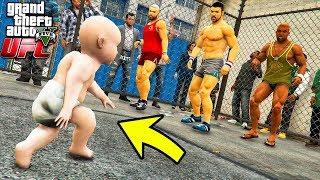 РЕБЕНОК ПРОТИВ КАЧКОВ БОИ БЕЗ ПРАВИЛ UFC В ГТА 5 МОДЫ! ОБЗОР МОДА В GTA 5! ИГРЫ ГТА ВИДЕО MODS