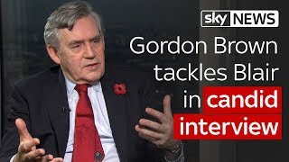 Gordon Brown candid on Blair, Corbyn and tax