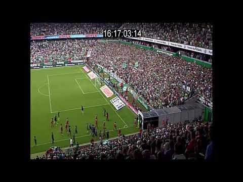 Werder-Fans attackieren Ordner im Weserstadion