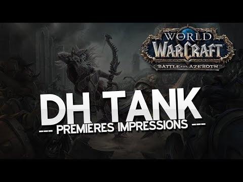 Alpha BfA - DH Tank (Demon Hunter) - Premières impressions