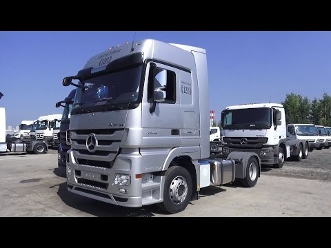 2016 Mercedes-Benz Actros 1844 LS 120 Limited Edition. Start