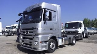 2016 Mercedes-Benz Actros 1844 LS 120 Limited Edition. Start Up, Engine, and In Depth Tour.