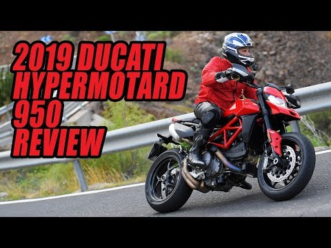 2019 Ducati Hypermotard 950 and Hypermotard 950 SP Review