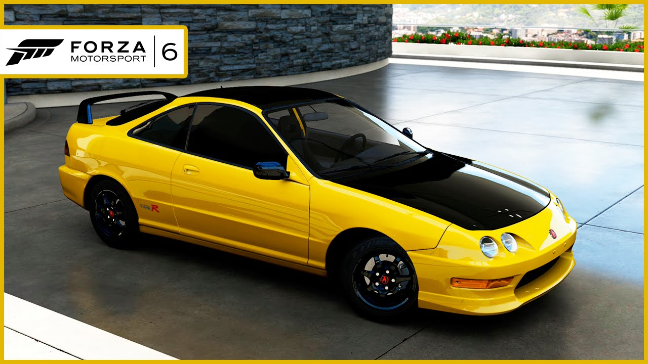 forza motorsport 6 8 acura integra type r 2001 xbox one pt 1280x720. Black Bedroom Furniture Sets. Home Design Ideas
