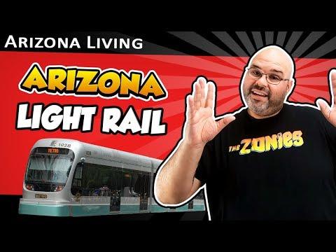 Phoenix Arizona light rail (how to ride the light rail in phoenix)