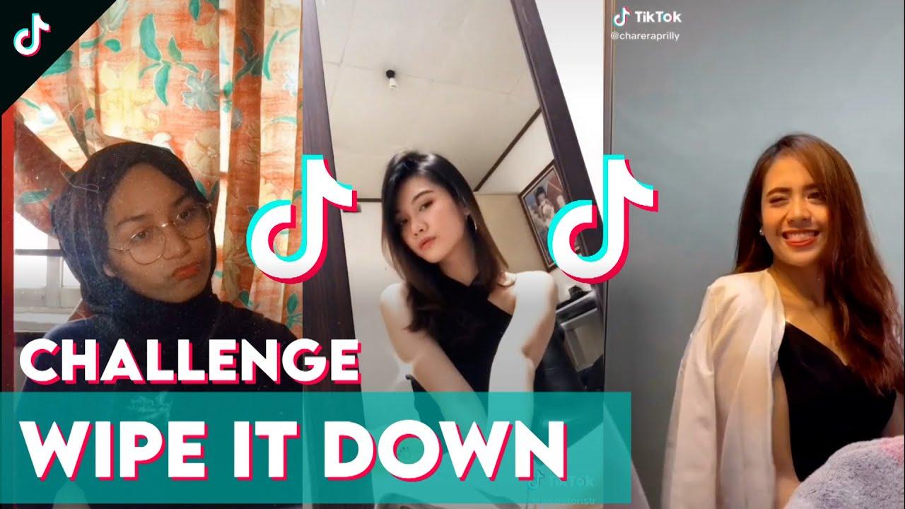 Challenge Tiktok Wipe It Down Bisa Berubah Orang Tiktokindonesia Wipe It Down Challenge Youtube