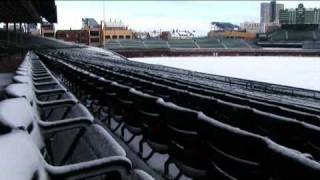 Behind the Scenes: Winter Classic Rink Build at Wrigley