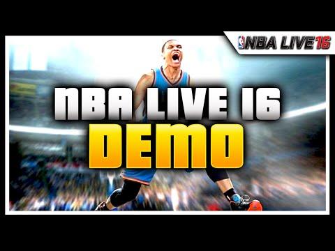 NBA Live 16 Demo | My Dude Is A BEAST!