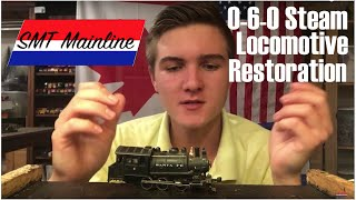 0-6-0 Steam Locomotive Restoration