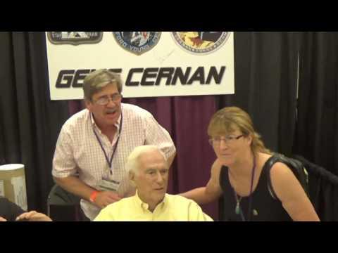 Eugene Cernan at SpaceFest V11