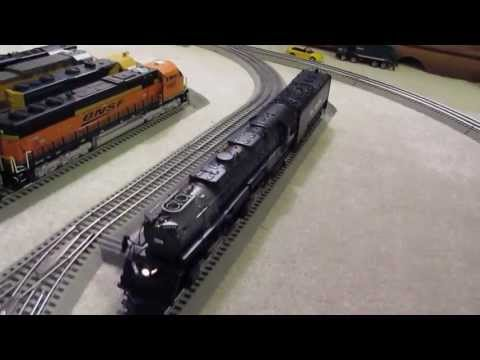 Lionel legacy Lionmaster Rio Grande Challenger #3805 Review