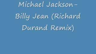 Michael Jackson- Billy Jean (Richard Durand Remix)