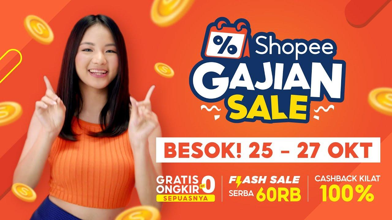 BESOK! Shopee Gajian Sale | Jangan Lewatkan Flash Sale Serba 60RB!