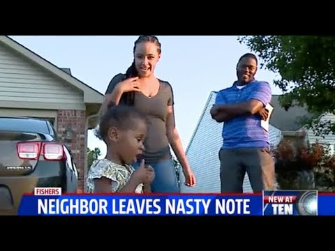 "A  Family Receives a ""Horrifying"" Letter in Fishers, Indiana!"