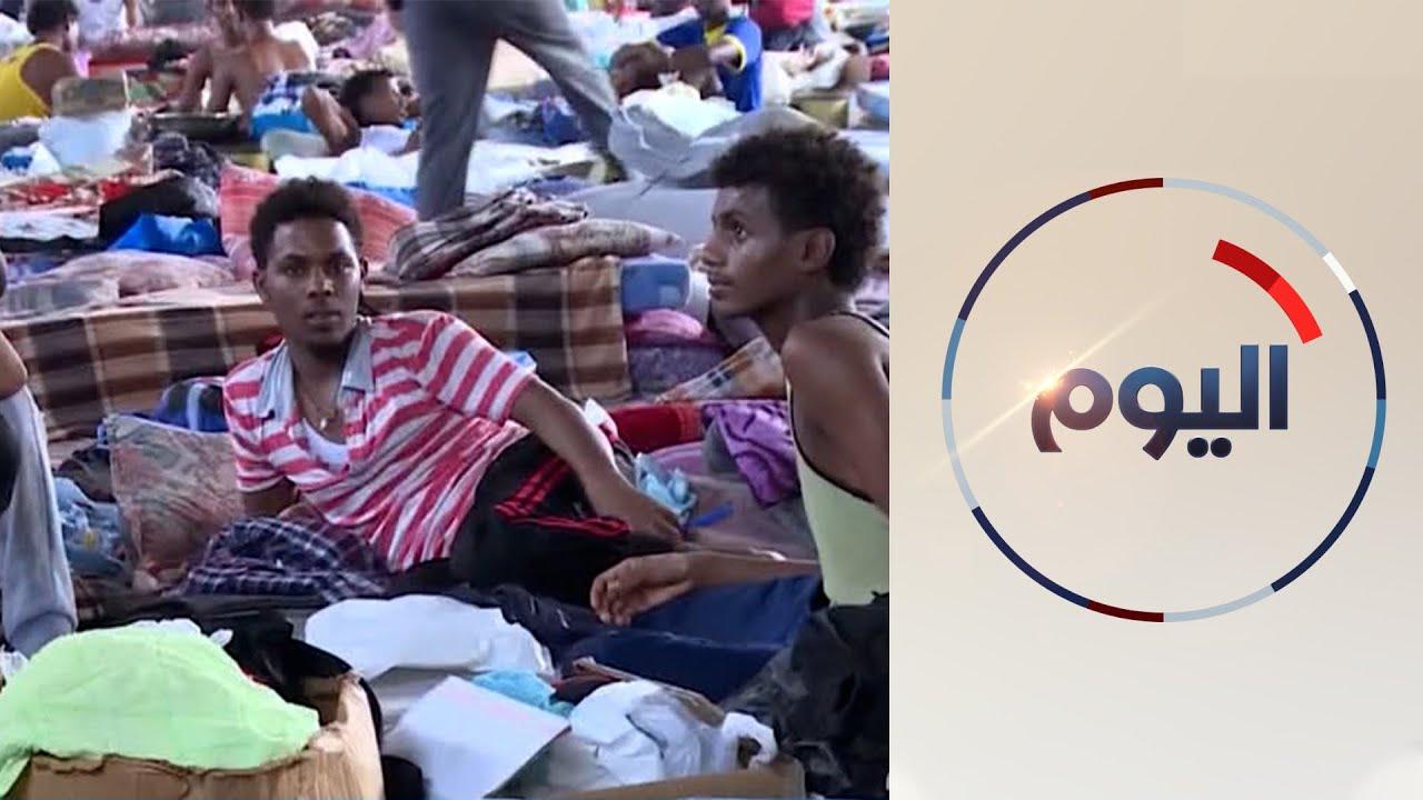 مئات المهاجرين غير الشرعيين يحاولون عبور المتوسط من ليبيا  - 12:55-2021 / 6 / 9
