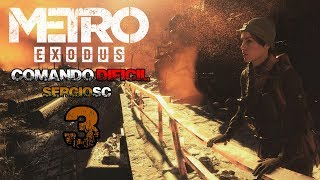 Metro Exodus #3 Dificultad COMANDO DIFÍCIL Yamantau 1 - Gameplay Directo Español PC STEAM