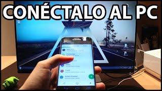 Las Mejores APLICACIONES para conectar PC con Android