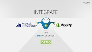 Integrate Microsoft Dynamics Nav with Shopify   APPSeCONNECT
