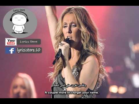 Celine Dion -  Water And A Flame lyrics مترجمة