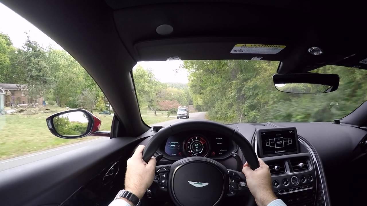 Motorcars Of Nashville >> 2017 Aston Martin DB11 POV Test Drive - YouTube