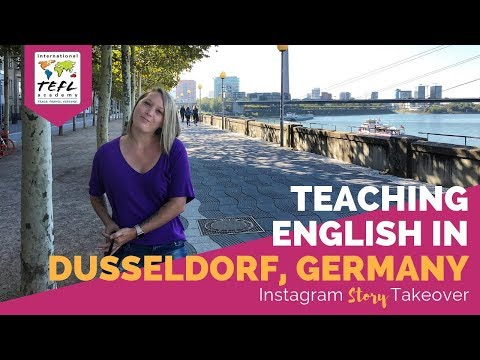 Teaching English in Dusseldorf, Germany - TEFL Social Takeover with Lynsey MacLaren