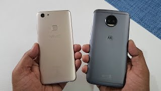 ViVo V7 vs Moto G5s Plus SPEEDTEST | WHICH IS FASTER !