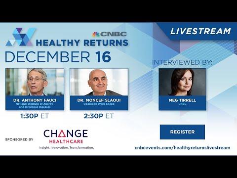 Dr. Moncef Slaoui joins Meg Tirrell for a special edition Healthy Returns — 12/16/2020
